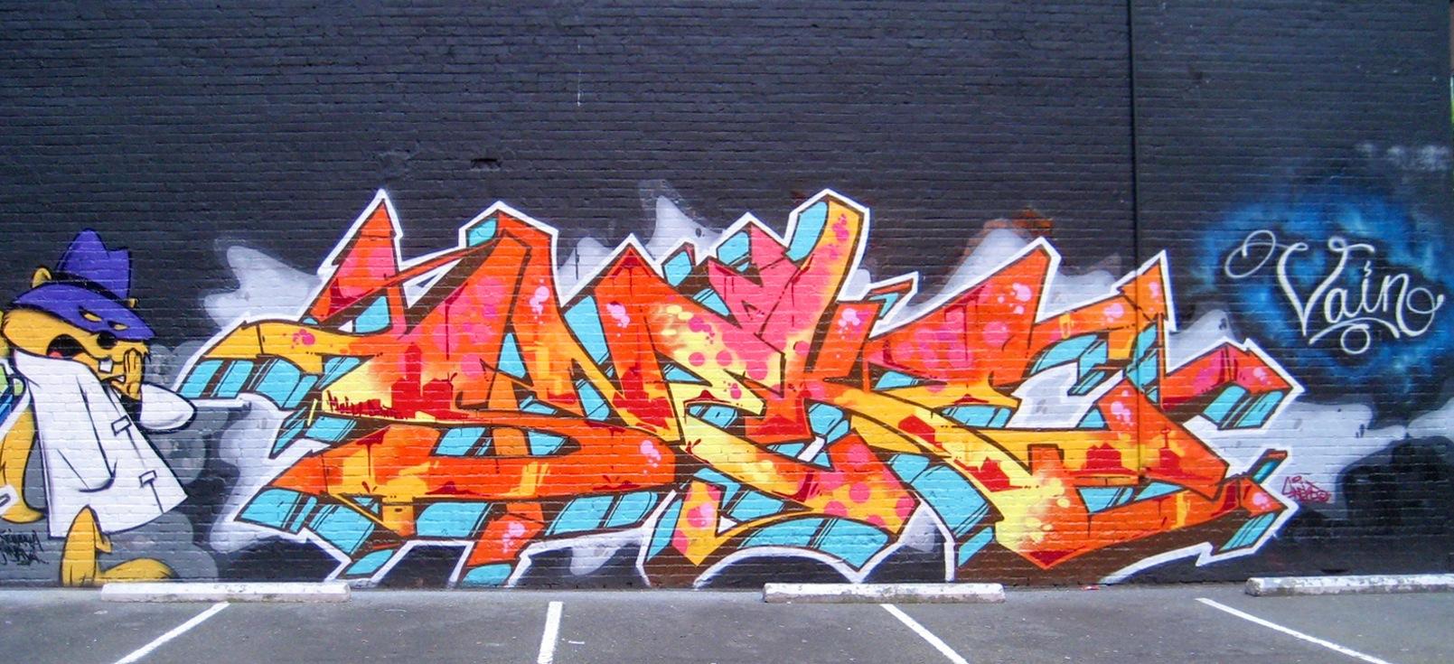 how to write good graffiti