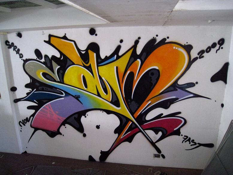 Asia in Graffiti Words