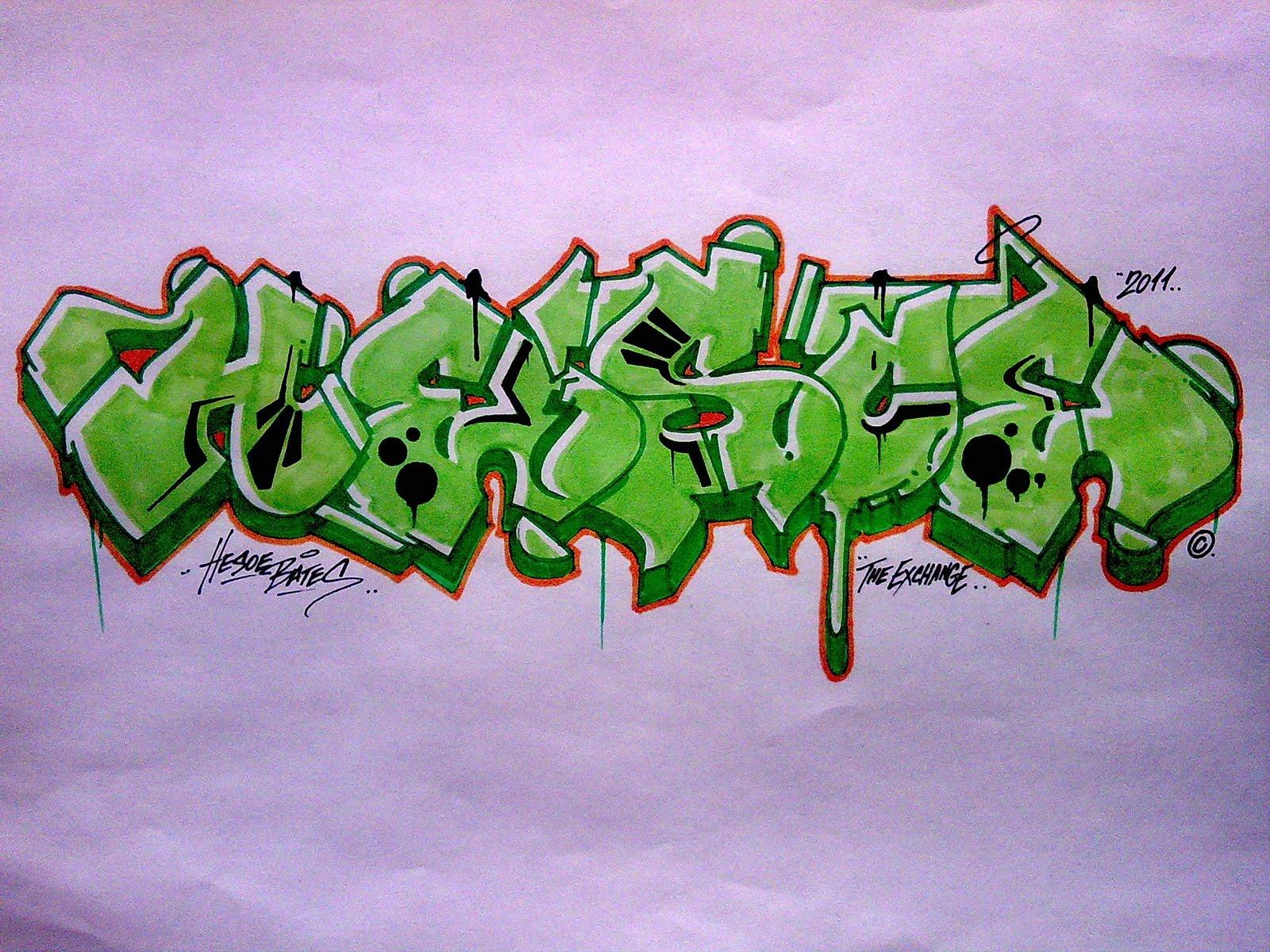 West Coast Graffiti Graffiti, hesoe, jurne,