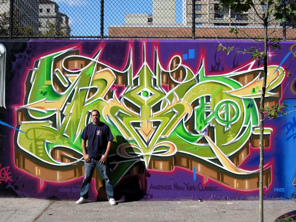 Old school bay area graffiti